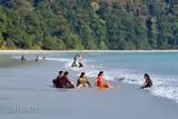 Radhanagar Beach - indian women