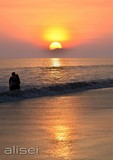 Radhanagar Beach - Romantic sunset